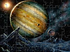 Puzzle cu planete