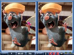 Ratatouille Gaseste Diferentele