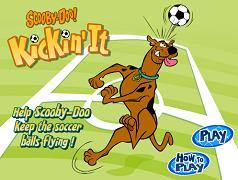 Scooby Doo si mingea de fotbal
