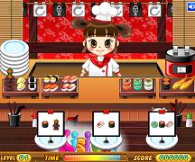 Serveste sushi