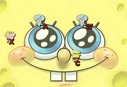 Spongebob de tastat