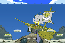 Spongebob si comoara piratilor