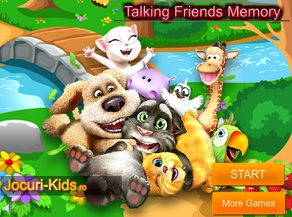 Talking Friends de Memorie