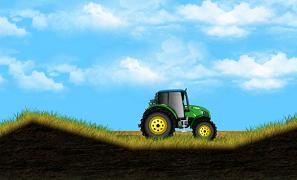Tractorul de la ferma