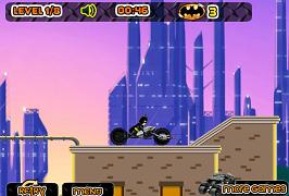 Batman pe motocicleta