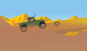 Beyblade cu jeepul