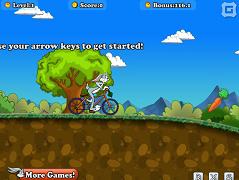 Bugs Bunny biciclist