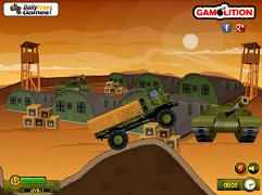 Camionul militar cu misiuni