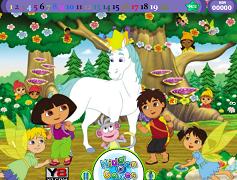 Dora Adventure si obiectele ascunse