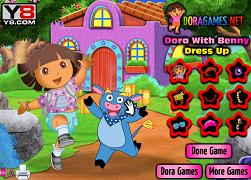 Dora si Benny de imbracat