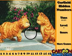 Garfield descopera cifrele ascunse