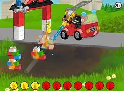 Masina de pompieri LEGO
