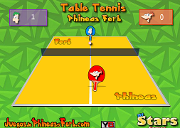 Phineas si Ferb ping-pong