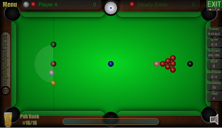 Snooker in Pub