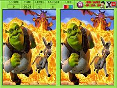Shrek cauta diferentele